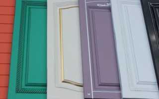 Покраска кухонных фасадов: плюсы способа, выбор ЛКМ, этапы работы