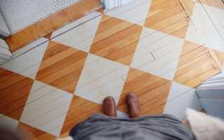 Износостойкая краска для деревянного пола