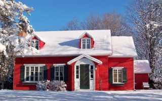 Что представляет собой морозостойкая фасадная краска
