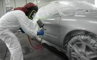 Можно ли покрасить машину зимой и как это сделать: технология работ в гараже