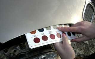 Как подобрать краску по VIN-номеру – поиск и определение кода эмали