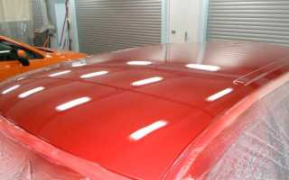 Технология покраски крыши автомобиля: выбор краски и подготовка поверхности, нанесение состава и финишная лакировка