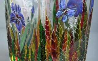 Виды краски для росписи по стеклу