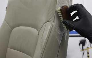 Краска для кожаных сидений и салона автомобиля: выбор и процесс окрашивания