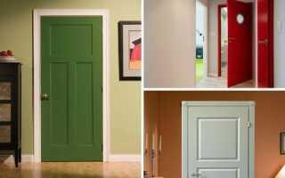 Покраска дверей: выбор лакокрасочного материала, пошаговая инструкция по покраске, как выбрать цвет