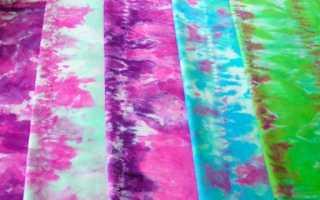 Как закрепить краску на ткани