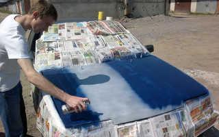 Выбор краски в баллончике для покраски автомобиля: основные проблемы и методы выбора состава
