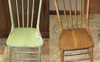 Как покрасить стул в домашних условиях