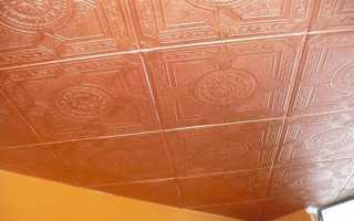 Покраска потолочной плитки: выбор краски и инструментов, подготовка поверхности и технология окрашивания