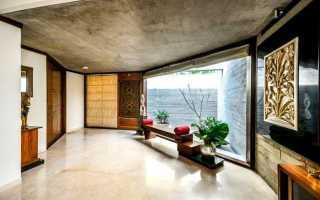 Технология окрашивания потолка из бетона