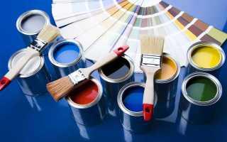 Акриловые краски для окрашивания металла