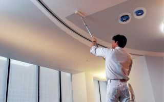 Покраска потолка: необходимые материалы и выбор краски, подготовка поверхности и пошаговая инструкция