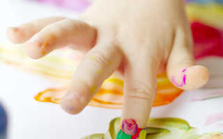 Делаем нетоксичные пальчиковые краски своими руками: популярные рецепты «съедобной» краски