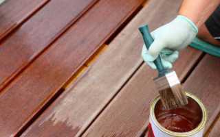 Масляная краска для дерева