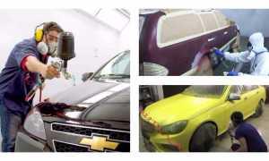 При какой температуре красить машину: особенности окрашивания при низкой или высокой температуре