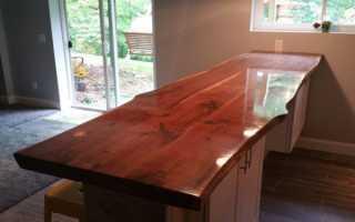 Особенности защитного лака: как выбрать состав для деревянной столешницы, принцип нанесения покрытия.