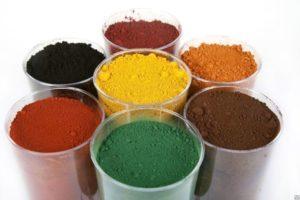 Сухие пигменты для добавления в краску