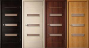 Покраска ламинированных дверей