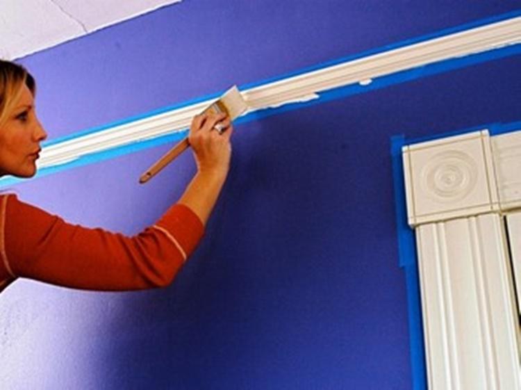 Окрашивание водоэмульсионкой стен своими руками