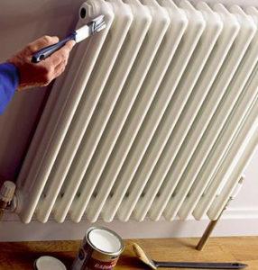 Акриловая краска для отопительных радиаторов
