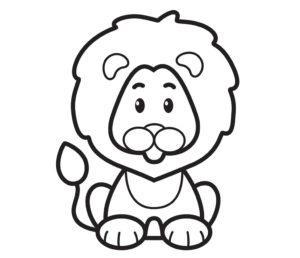 Детский трафарет для рисования