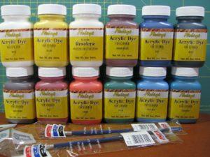 Акриловая краска для кожзама