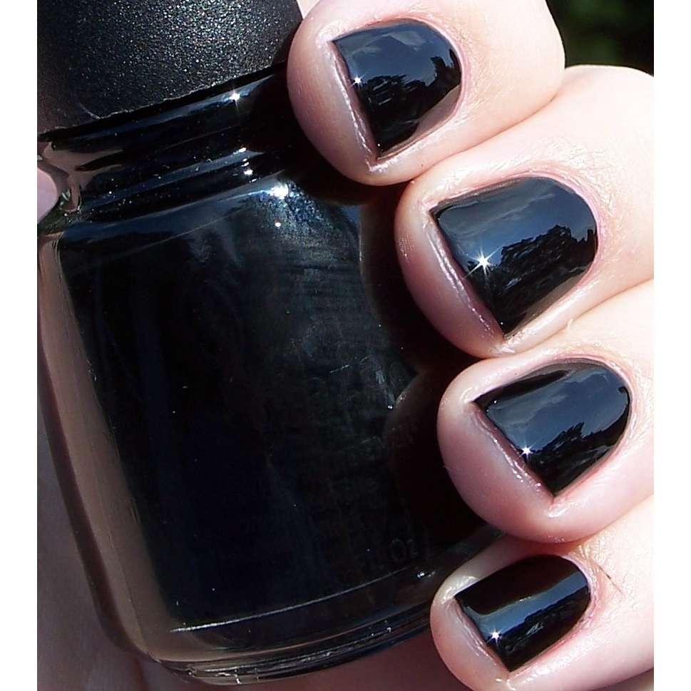 картинки лак для ногтей черный так