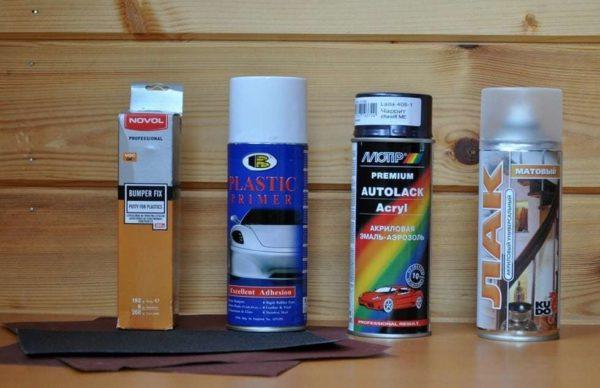 Краски для пластика