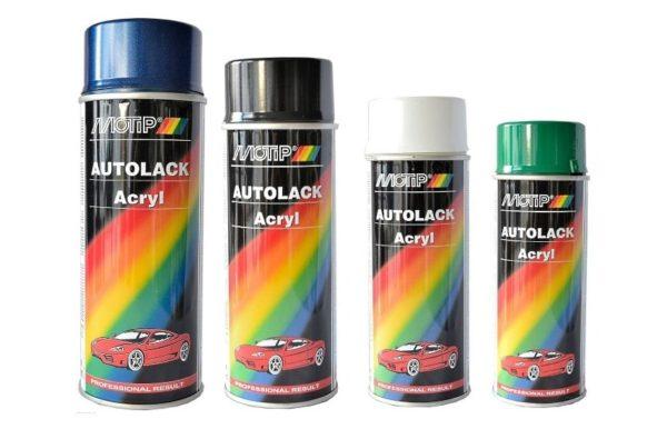 Автомобильная краска в баллончиках