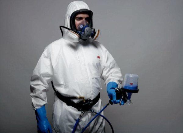 Защитные средства при покраске