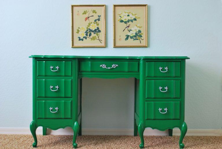 Перекрасить мебель из МДФ