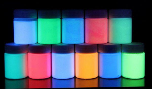 Как сделать светящуюся краску?
