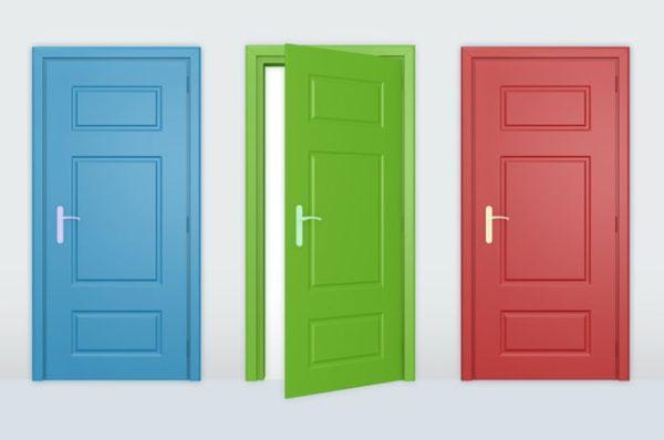 Крашеные двери из МДФ