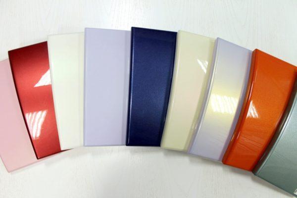 Различные варианты покраски