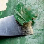 Удаление лакокрасочного покрытия с бетонных стен: методы, материалы, технология