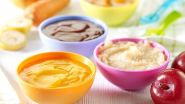 Овощное или фруктовое пюре