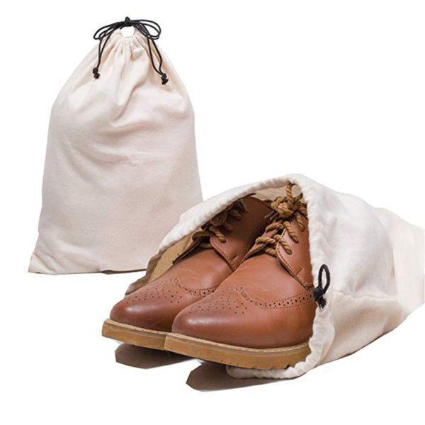 Хранение окрашенной обуви