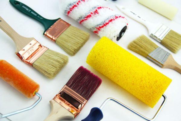 Инструмент необходимый для покраски