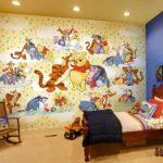 Идея рисунка для стен в детской