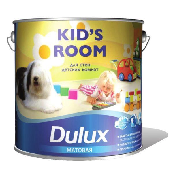 Краска для стен в детской
