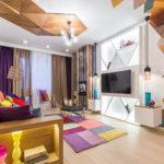 Авангардный стиль в гостиной