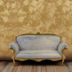 Декоративная краска с эффектом песка: одна из наиболее оригинальных фактур для обновления интерьера