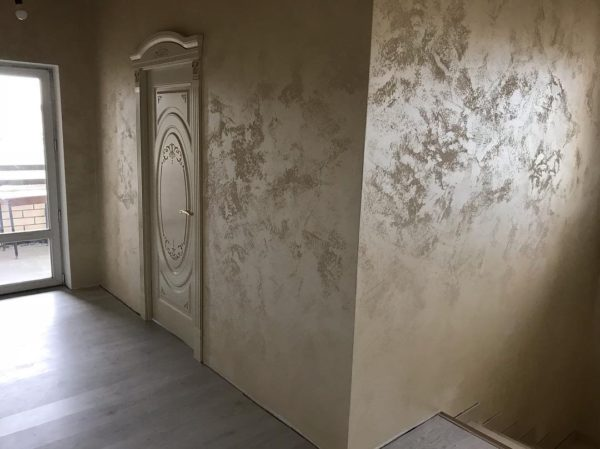 Декоративное покрытие в интерьере