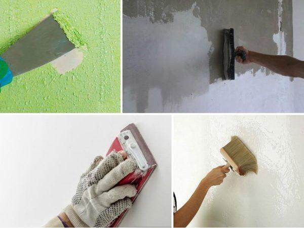 Этапы подготовки стены к покраске