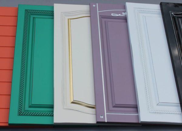 Покраска фасада кухни