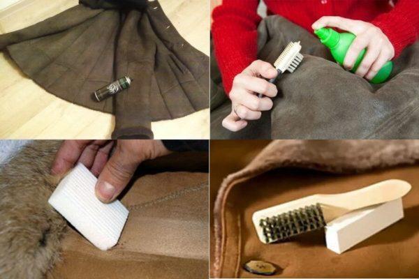Инструкция по покраске дубленки в квартире или частном доме