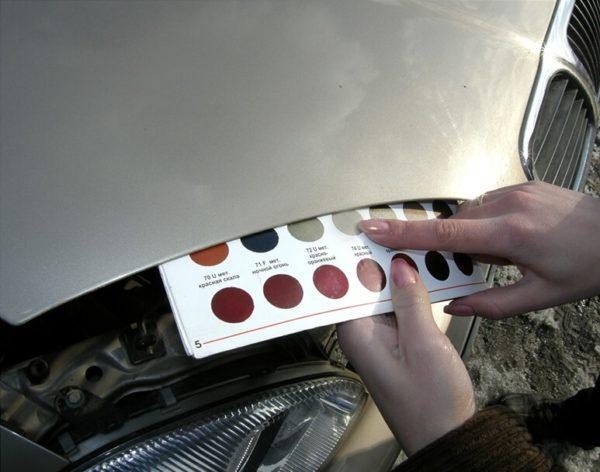 Как подобрать краску по VIN-номеру - поиск и определение кода эмали