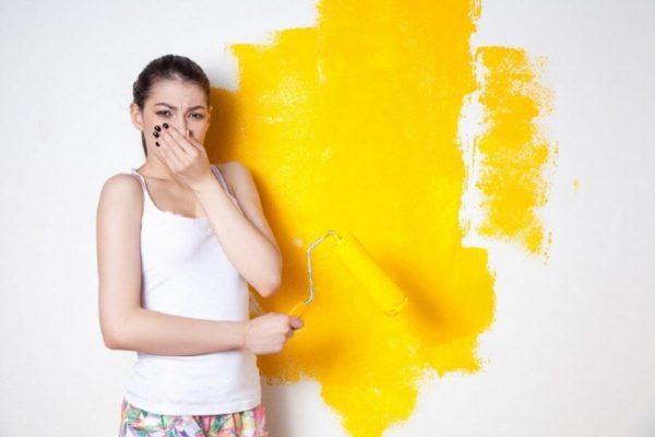 Как справиться с запахом краски после ремонтных работ