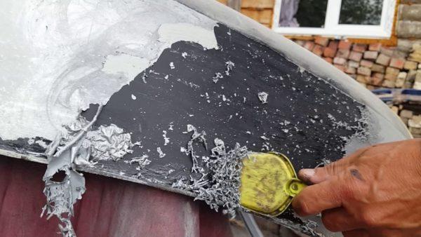 Как самому очистить пластмассу от краски