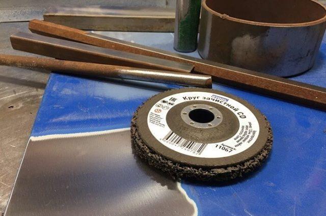 Очистка металла от краски